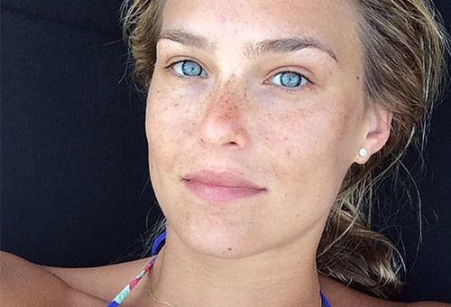 stars sans make-up Bar Refaeli