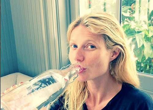 stars sans make-up Gwyneth Paltrow
