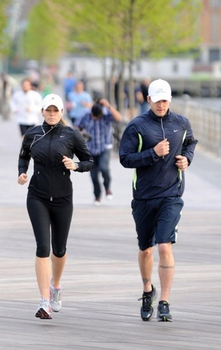 running couple
