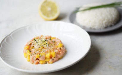 Tartare Mangue Saumon | Healthy & Co