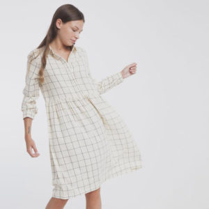 Robe en laine organique Thinking Mu